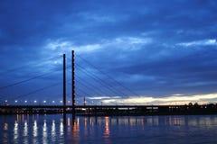 Puente en el sseldorf del ¼ de DÃ, Alemania Imagen de archivo libre de regalías
