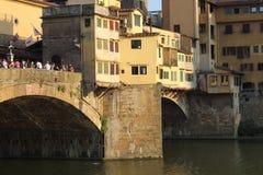 Puente en Florencia imagenes de archivo