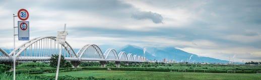 Puente en FujikawaShizuoka, Japón Imágenes de archivo libres de regalías