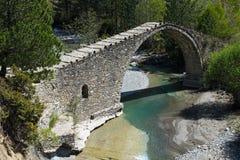 Puente en Grecia Imagen de archivo libre de regalías