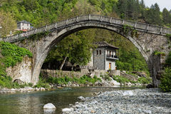 Puente en Grecia Foto de archivo libre de regalías