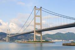 Puente en Hong-Kong Foto de archivo