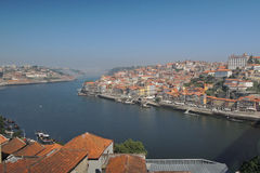 Puente en la ciudad de Oporto Fotografía de archivo libre de regalías