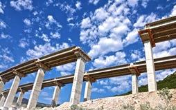 Puente en la construcción Imagen de archivo libre de regalías
