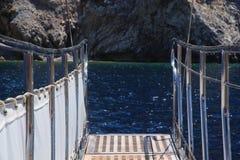 Puente en la nave Imágenes de archivo libres de regalías