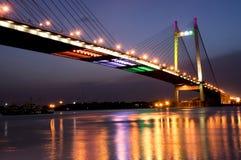 Puente en la noche Fotografía de archivo