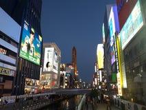 Puente en la noche Foto de archivo