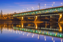 Puente en la oscuridad Imagen de archivo