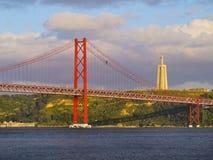 Puente en Lisboa Imagen de archivo