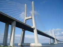 Puente en Lisboa Imagen de archivo libre de regalías