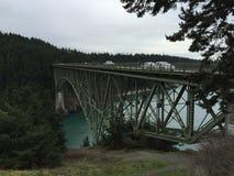 Puente en los E.E.U.U. Fotografía de archivo libre de regalías