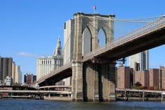 Puente en Manhattan Foto de archivo libre de regalías