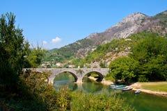 Puente en Montenegro Foto de archivo libre de regalías