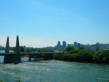 Puente en Montreal Canadá Fotos de archivo libres de regalías