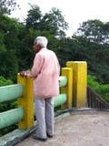 Puente en muerte del n de la vida foto de archivo libre de regalías