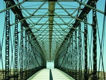 Puente a en ninguna parte Fotografía de archivo libre de regalías