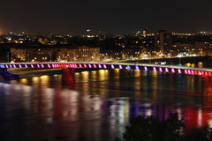 Puente en Novi Sad Imagenes de archivo