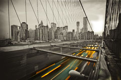 Puente en Nueva York Imagen de archivo libre de regalías