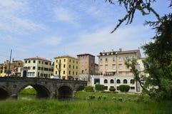 Puente en Padua Imagenes de archivo