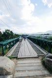 Puente en pai el 16 de diciembre de 2015: Fotografía de archivo libre de regalías