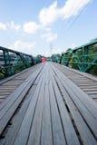 Puente en pai el 16 de diciembre de 2015: Foto de archivo