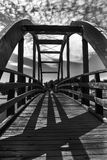 Puente en Parque del Andarax Foto de archivo