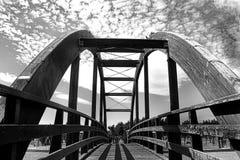 Puente en Parque del Andarax Almería Fotografía de archivo libre de regalías
