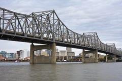 Puente en Peoria Fotos de archivo libres de regalías