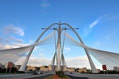 Puente en Putrajaya Foto de archivo libre de regalías