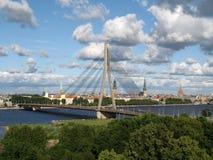 Puente en Riga Foto de archivo libre de regalías