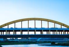 Puente en Taipei Taiwán imágenes de archivo libres de regalías