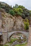 Puente en Tbilisi, Georgia Foto de archivo libre de regalías