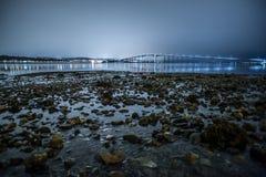 Puente en Tromso fotos de archivo