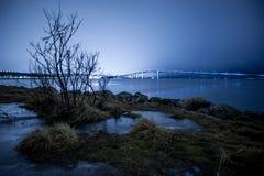 Puente en Tromso imagen de archivo