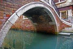 Puente en Venecia Imagen de archivo libre de regalías