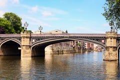 Puente en York, Inglaterra Imagenes de archivo