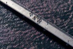 Puente en Zadar Foto de archivo libre de regalías