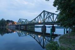 Puente entero de Glienicke Fotografía de archivo