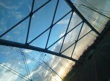 Puente entrecruzado fotografía de archivo