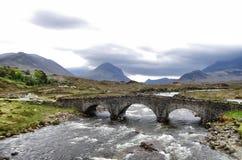 Puente escocés Foto de archivo