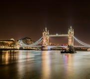 Puente famoso de la torre Foto de archivo libre de regalías