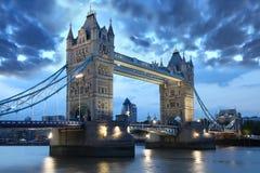 Puente famoso de la torre, Londres, Reino Unido Imágenes de archivo libres de regalías