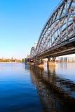 Puente ferroviario Imagen de archivo libre de regalías