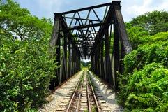 Puente ferroviario en Bukit Timah Fotos de archivo libres de regalías