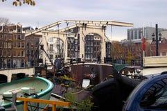 Puente flaco en Amsterdam Imagen de archivo libre de regalías