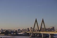 Puente, forma de M Foto de archivo libre de regalías