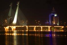 Puente Fushun Liaoning China de Tianhu fotos de archivo libres de regalías