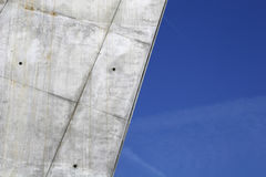 Puente futurista imagenes de archivo