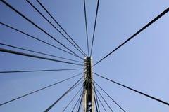 Puente futurista Foto de archivo libre de regalías