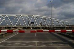 Puente giratorio foto de archivo